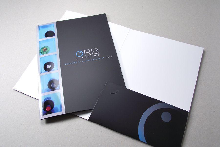 A5 Corporate Presentation Folders