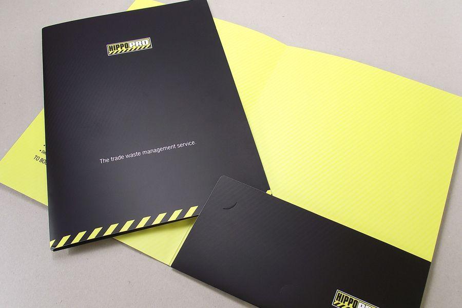 A4 Corporate Presentation Folders