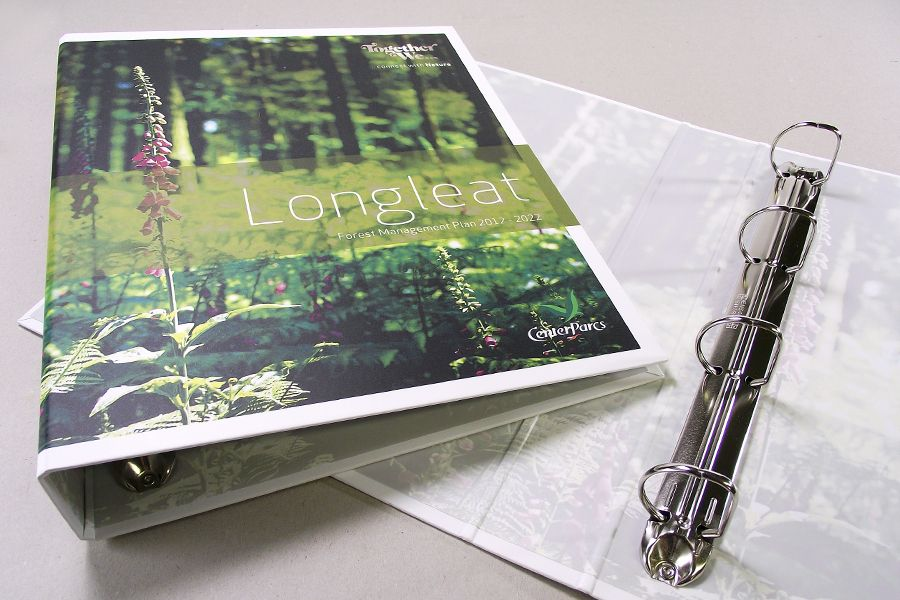 Printed Ring Binders